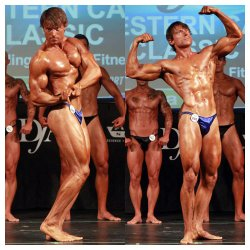 Simon Dovey - IDFA and INBF 3rd place Bodybuilder