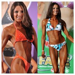 Teena Gudjonson-FAME 1st place Fitness Model