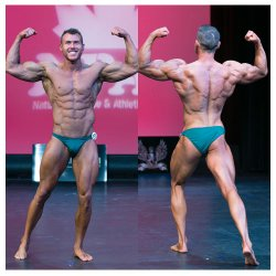 Chris Ashley - 1st NPAA Novice Bodybuilding, 1st NPAA heavy weight bodybuilding and 2nd NPAA Pro bodybuilding