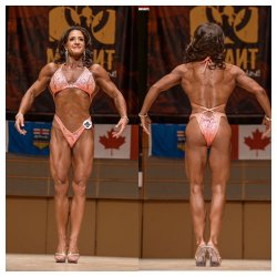 Kari Zuback - 1st place masters figure, 2nd place open figure ABBA Southern's and Provincials.