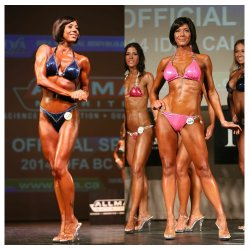 Candy Stribehill- IDFA 2rd place Figure and IDFA 3rd place Fitness Model