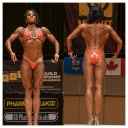 Heidi Allen - 3rd place Figure ABBA Southern's, IDFA 1st place Figure and Pro Card winner, NPAA 2nd Figure