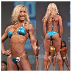 Erin Okrancy - ABBA Nationals 3rd place Bikini Masters, Canadian Nationals