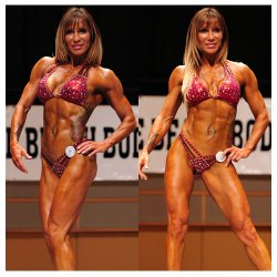 Trish Weston - ABBA Muscle Beach 2nd Place Figure, ABBA & IDFA Athlete