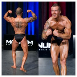 Austin Mendes - IDFA 3rd place & NPAA 2nd place Novice bodybuilding